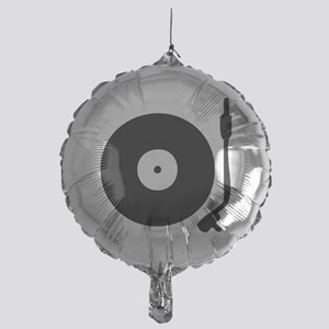 Vinyl Record Turntable Mylar Balloon