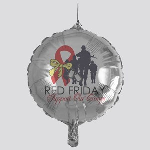 SupportRedFridays23 Mylar Balloon
