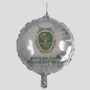 Army-519th-MP-Bn-Shirt-2 Mylar Balloon