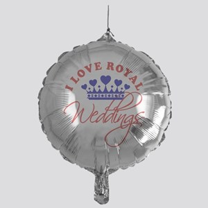I Love Royal Weddings 1 Mylar Balloon