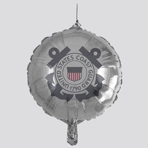 USCG-Logo-Blue-White-For-Blue-Crows Mylar Balloon