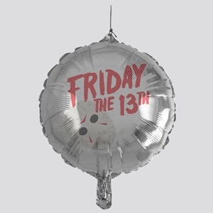 friday mask Mylar Balloon