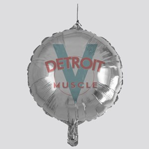Detroit Muscle red n blue Mylar Balloon