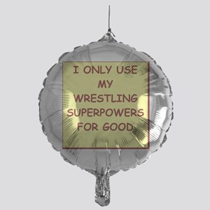WRESTLING Mylar Balloon