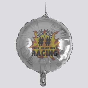Flaming Racing Balloon