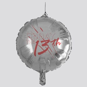 friday the 13th movie logo Mylar Balloon