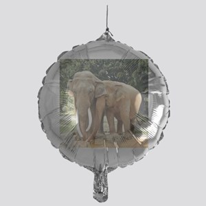 ELEPHANT LOVE Mylar Balloon