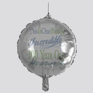 IncredibleGreen100 copy Mylar Balloon