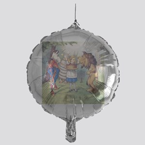 The Lion and The Unicorn Mylar Balloon