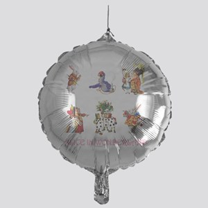 Alice & Friends in Wonderland Mylar Balloon
