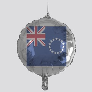Flag of the Cook Islands Mylar Balloon