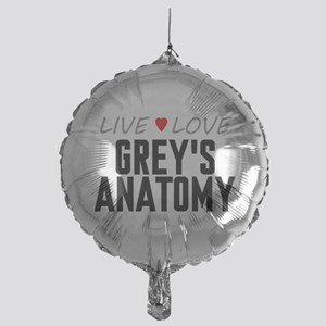 Live Love Grey's Anatomy Mylar Balloon