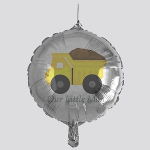 Our Little Man Dump Truck Balloon