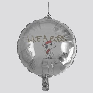 Peanuts Snoopy Like A Boss Mylar Balloon