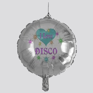 I Love Disco Mylar Balloon