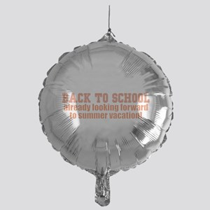 BTS Summer Orange Mylar Balloon