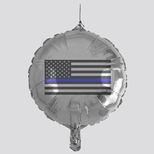 Police: Black Flag & The Thin Blue Line Balloon