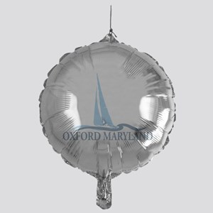 Oxford MD - Sailboat Design. Mylar Balloon