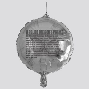 A POLICE OFFICERS PRAYER Mylar Balloon