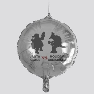 'Santa vs Armadillo' Mylar Balloon