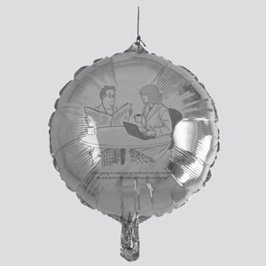 CAJ_oralsexcartoon Mylar Balloon