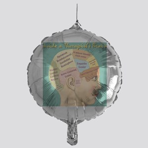 Inside a Therapists Brain Mylar Balloon