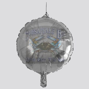 Chesapeake Bay Blues Mylar Balloon