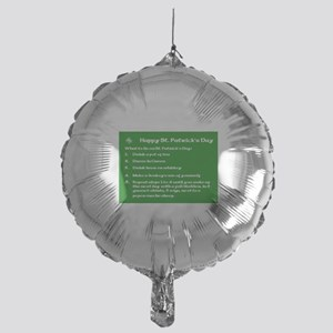 What to do on St. Patricks Day Mylar Balloon