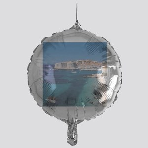 Croatia by the Beach  Mylar Balloon