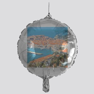 Croatia Harbor  Mylar Balloon