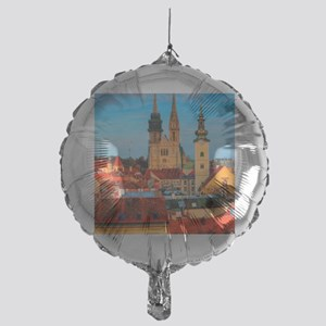 Croatia Cathedral Mylar Balloon