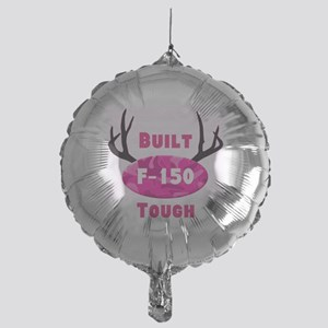 F150 Pink Camo Deer Horns Balloon