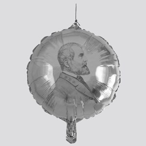 Robert E Lee Portrait Illustration Mylar Balloon