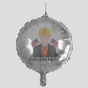 Jeb Can Fix It Mylar Balloon