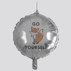 Go Fox Yourself Hitch Cover1932213826 Balloons - CafePress