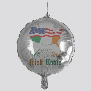 American Irish Roots Mylar Balloon