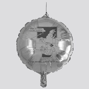 Computerized Spit-Ball Mylar Balloon