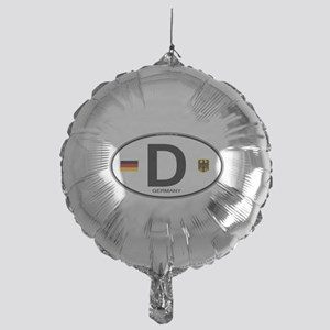 Germany Euro Oval Mylar Balloon
