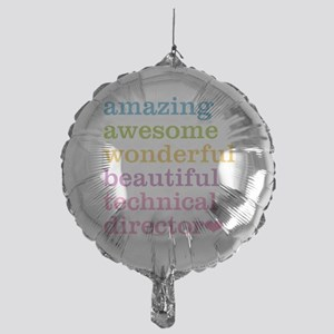 Amazing Technical Director Mylar Balloon