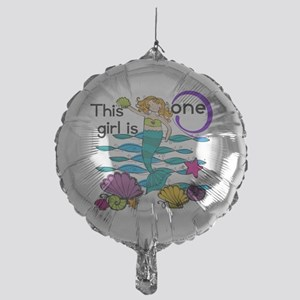 MERMAIDfirstt Mylar Balloon