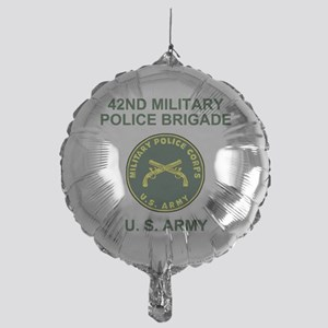Army-42nd-MP-Bde-Shirt-2 Mylar Balloon