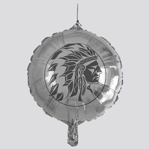 Indian Chief Head Mylar Balloon