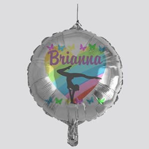 PERSONALIZE GYMNAST Mylar Balloon
