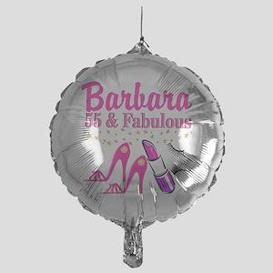 Happy 55th Birthday Balloons