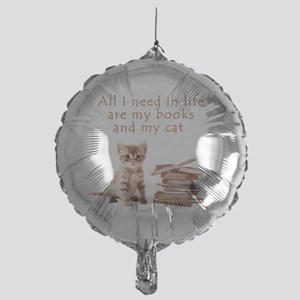 Cats and books Balloon