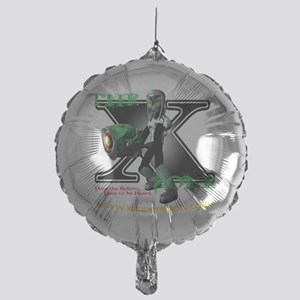 The X-Zone Alien_Green wGun Mylar Balloon