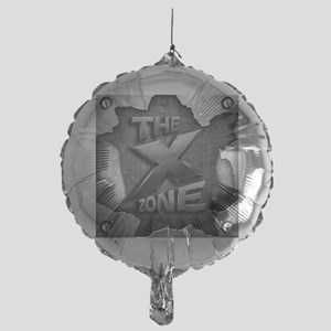 The X Zone Logo Steel Box_8x8 Mylar Balloon