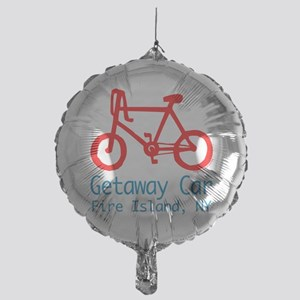 Fire Island Getaway Car Mylar Balloon