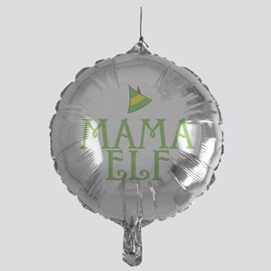 Mama Elf Mylar Balloon