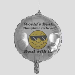 World's Best Daughter-In-Law Humor Mylar Balloon